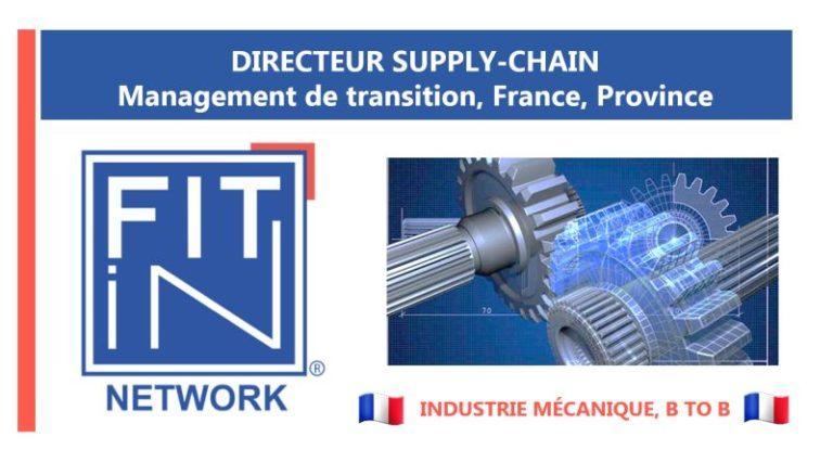 Mission de management de transition, Directeur Supply ...